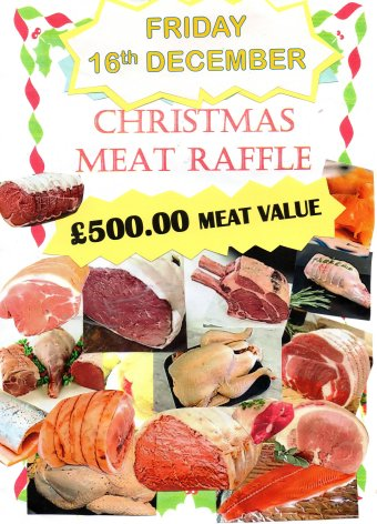 Christmas Meat Raffle