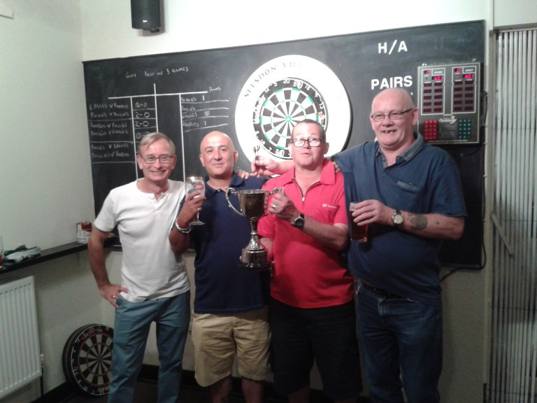 The Les Warner Memorial  ' At the Bar ' Darts Tournament 2016.